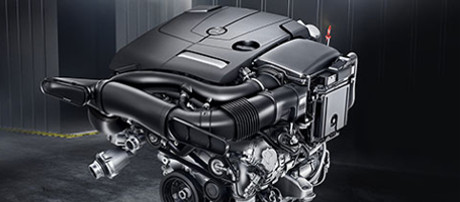 2018 Mercedes-Benz C Class Cabriolet engine
