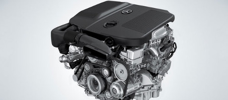 2018 Mercedes-Benz C Class Coupe Engine