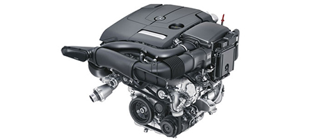 2018 Mercedes-Benz C Class Sedan Turbo Engine