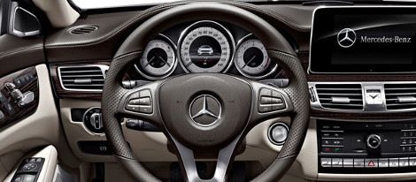 2018 Mercedes-Benz CLS Coupe Steering Wheel