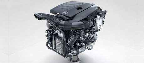 2018 Mercedes-Benz E Class Cabriolet Engine