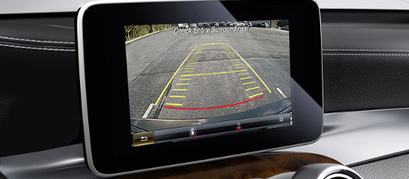 2018 Mercedes-Benz GLC SUV Rearview Camera