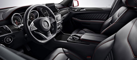 2018 Mercedes-Benz GLE Coupe Interior