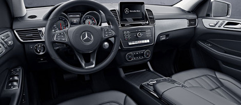 2018 Mercedes-Benz GLS SUV interior