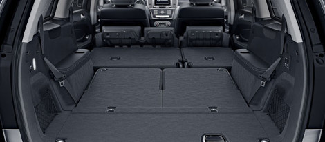 2018 Mercedes-Benz GLS SUV cargo space
