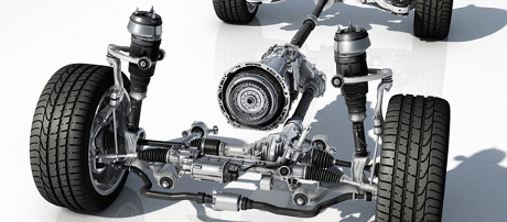 2018 Mercedes-Benz GLS SUV Suspension