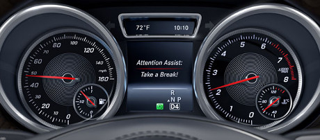 2018 Mercedes-Benz GLS SUV ATTENTION ASSIST