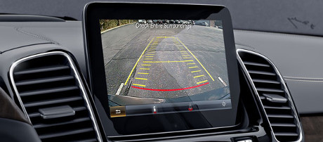 2018 Mercedes-Benz GLS SUV Rearview Camera