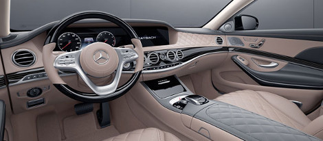 2018 Mercedes-Benz Maybach Interior