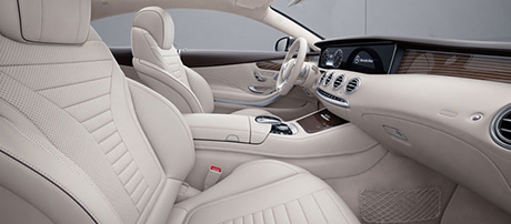 2018 Mercedes-Benz S Class Coupe Leather Seats