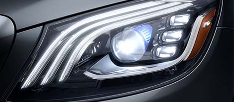 2018 Mercedes-Benz S Class Sedan Headlamps