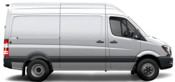 2018 Mercedes-Benz Sprinter Cargo Van High Roof - 144 Wheelbase