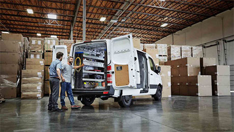 Mercedes-Benz Sprinter Worker Cargo Van Exterior