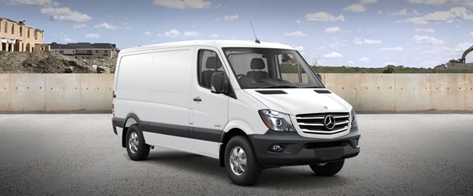 2018 Mercedes-Benz Sprinter Worker Cargo Van