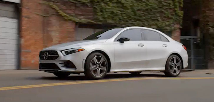 2019 Mercedes-Benz A-Class Sedan safety