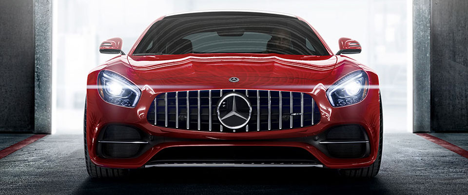 2019 mercedes-benz AMG GT Coupe Safety Main Img