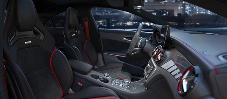 2019 Mercedes-Benz CLA Coupe Interior