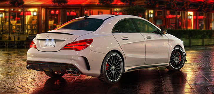 2019 Mercedes-Benz CLA Coupe 4-cylinder engine