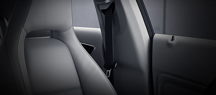 2019 Mercedes-Benz CLA Coupe Seat Belts