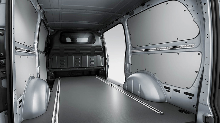 2019 Mercedes-Benz Metris Worker Cargo Van Interior