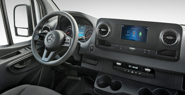 2019 Mercedes-Benz Sprinter Cab Chassis Interior
