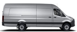 Sprinter Cargo Van 170 Extended Wheelbase - High Roof - 6-Cyl. Diesel 4x4