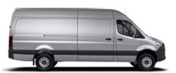 Sprinter Cargo Van 170 Wheelbase - High Roof - 6-Cyl. Diesel 4x4