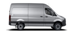 Sprinter Cargo Van 144 Wheelbase - High Roof - 6-Cyl. Diesel 4x4