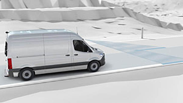 2019 Mercedes-Benz Sprinter Cargo Van safety