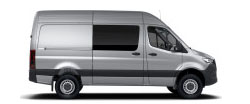 Sprinter Crew Van 144 Wheelbase - High Roof - 6-Cyl. Diesel 4x4