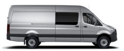 Sprinter Crew Van 170 Wheelbase - High Roof - 6-Cyl. Diesel 4x4