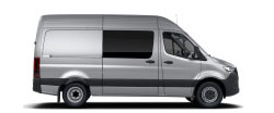 Sprinter Crew Van 144 Wheelbase - High Roof - 6-Cyl. Diesel