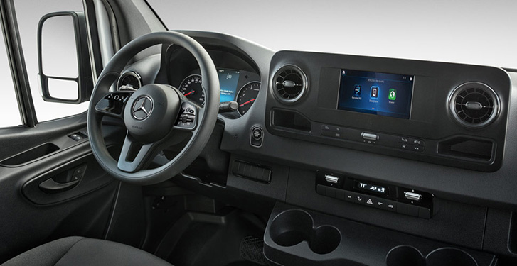 2019 Mercedes-Benz Sprinter Crew Van Interior