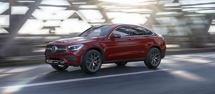 2020 Mercedes-Benz GLC Coupe performance