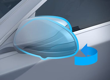 Power-Folding Side Mirrors