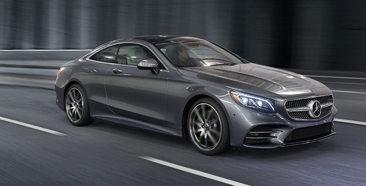 2020 Mercedes-Benz S-Class Coupe performance