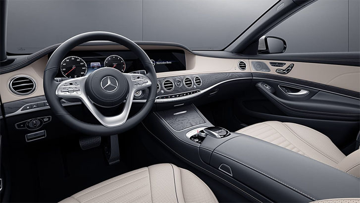 2020 Mercedes-Benz S Class Sedan comfort