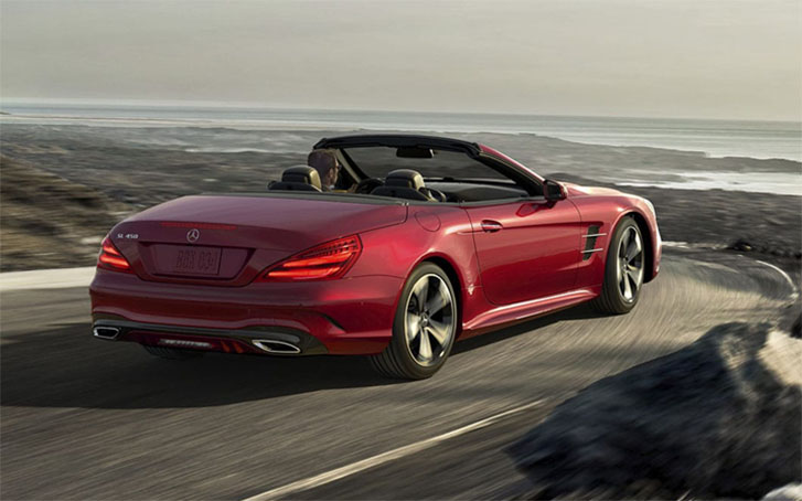 2020 Mercedes-Benz SL Roadster performance