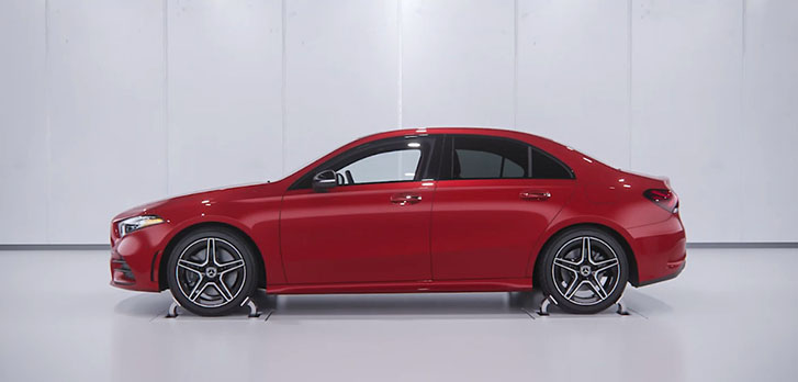2021 Mercedes-Benz A-Class Sedan performance