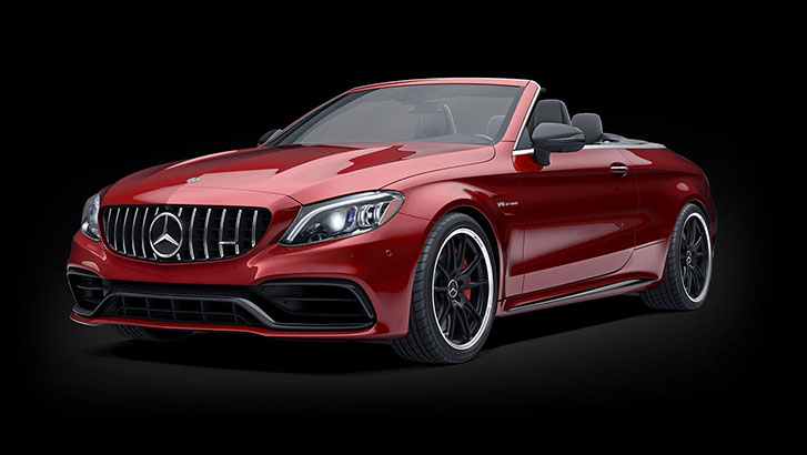 2021 Mercedes-Benz AMG C-Class Cabriolet appearance