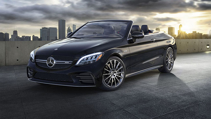 2021 Mercedes-Benz AMG C-Class Cabriolet performance