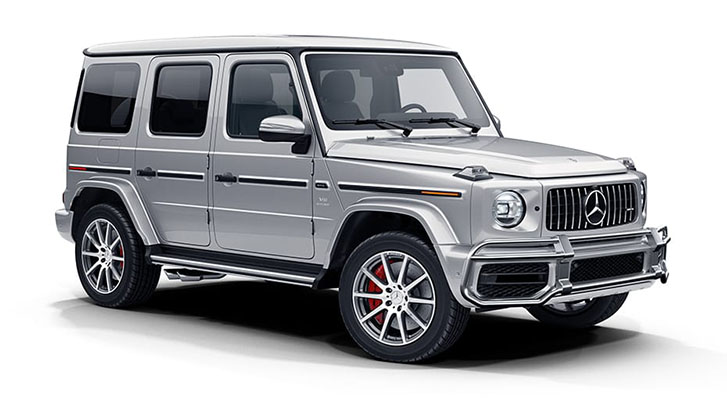 2021 Mercedes-Benz AMG G-Class SUV appearance