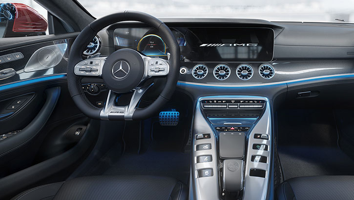 2021 Mercedes-Benz AMG GT 4-door Coupe comfort