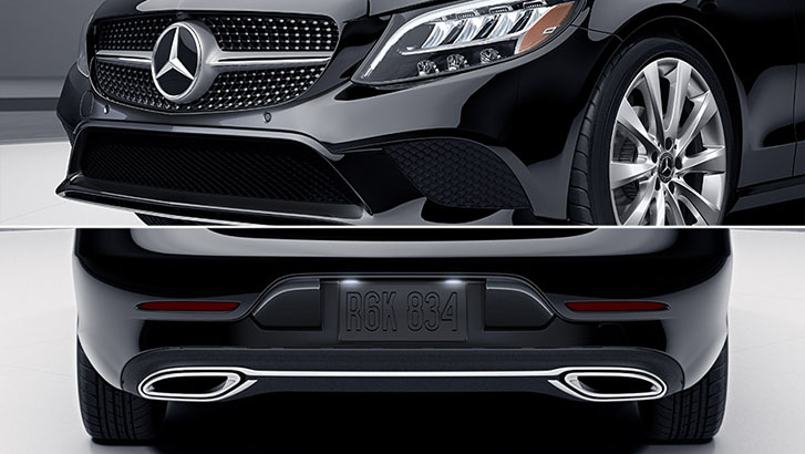 2021 Mercedes-Benz C-Class Coupe appearance