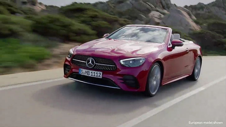 2021 Mercedes-Benz E-Class Cabriolet performance