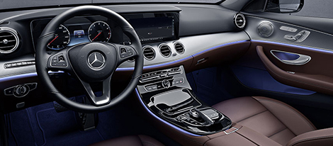 2017 Mercedes-Benz E400 4MATIC Wagon 7-speed AMG SPEEDSHIFT MCT transmission