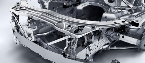 Aluminum and High-Strength Steel Body Structure
