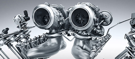 'Hot Inside V' Twin-Scroll Turbochargers