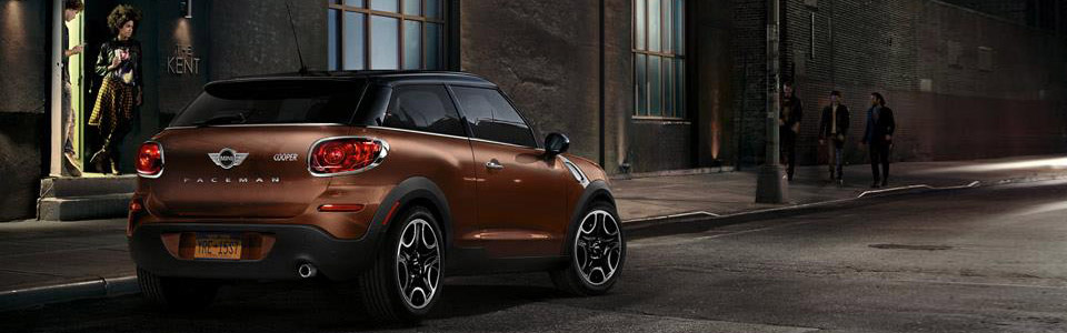 2016 Mini Paceman Safety Main Img
