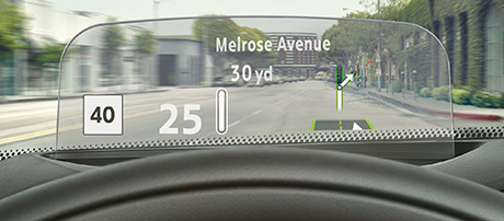 Optional Head-Up Display